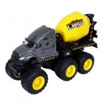 Maisto Fresh Metal Series Quarry Monsters - Cement Mixer - Yellow
