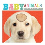 Make Believe Touch & Feel Board Book - Baby Animals