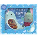 Make Believe Ideas Just Narwhal Book and Plush Boxset