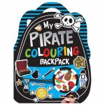 Make Believe My Pirate Adventure Colouring Backpack