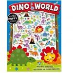 Make Believe Ideas Dino World Puffy Sticker Activity Book