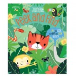 Make Believe Busy Bees Peek And Find Jungle - Cb Layered Flap Board Book