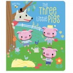Make Believe Busy Bees Three Little Pigs Cased Bb With 4 Silicone Heads