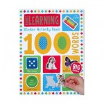 Make Believe 100 Early Learning Words Sticker Activity