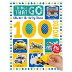 Make Believe 100 Things That Go Words Sticker Activity