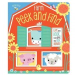 Make Believe Ideas Busy Bees Peek and Find Farm - CB Layered Flap Board Book