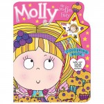 Make Believe Colouring and Sticker Books Molly the Muffin Fairy Colouring