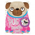 Make Believe Colouring and Sticker Books My Pug Doodle Pet