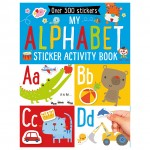Make Believe My Alphabet Sticker Activity Book