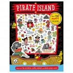 Make Believe Pirate Island Puffy Sticker Activity Book