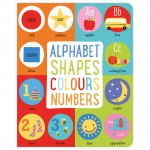 Make Believe First 100 Alphabet, Shapes, Colours, Numbers Small Padded