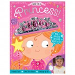 Make Believe Look I'm a Princess Sticker Activity with tiara