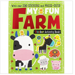 Make Believe My Fun Farm Sticker Activity