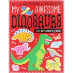 Make Believe My Awesome Dinosaur Sticker Activity