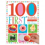 Make Believe 100 First Words Sticker Activity