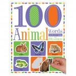 Make Believe 100 First Animal Words Sticker Activity