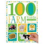 Make Believe 100 First Farm Words Sticker Activity