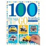 Make Believe 100 First Things That Go Words Sticker Activity