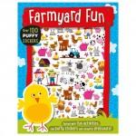Make Believe Puffy Stickers Farmyard Fun