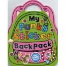 Make Believe My Funky Sticker Backpack