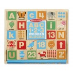 Melissa & Doug 123 Wooden Blocks