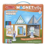 Melissa & Doug Magnetivity Playset House