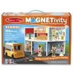 Melissa & Doug Magnetivity Playset School