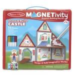 Melissa & Doug Magnetivity Playset Castle