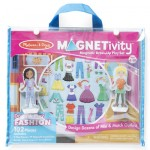 Melissa & Doug Magnetivity Playset Dress & Play Fashion