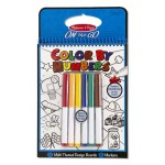 Melissa & Doug Color by Numbers Blue- ON the GO Travel Activity