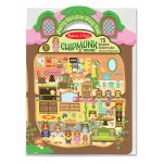 Melissa & Doug Puffy Stickers - Chipmunk House