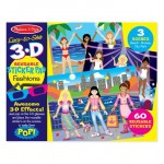 Melissa & Doug Easy-to-See 3-D Reusable Sticker Pad - Fashions