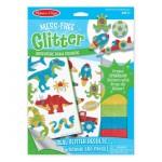 Melissa & Doug Mess-Free Glitter Adventure Foam Stickers