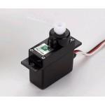 Park Zone Mini Servo (3W) with Arms, Short Lead: Super Cub
