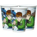 BBS Plastic Cup - Ben 10 - 200ml - (Pack of 8)