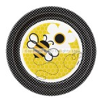 Unique Paper Plate - Busy Bees - 17cm - (Pack of 8)