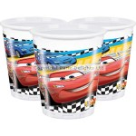 Amscan Plastic Cup - Disney Cars - 200ml - (Pack of 8)