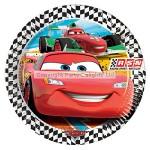Amscan Paper Plate - Disney Cars - 23cm - (Pack of 8)