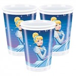 Amscan Plastic Cup - Cindrella - 180ml - (Pack of 8)
