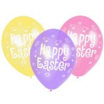 Amscan Balloon - Happy Easter Assorted - 12