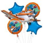 Amscan Balloon - Disney Planes Boquet - 18 Foil