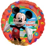 Amscan Balloon - Micky Mouse Happy Bday - 18 Foil