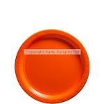 Amscan Paper Plate - Orange - 17cm - (Pack of 50)