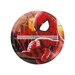 Unique Paper Plate - Amazing Spiderman - 17cm - (Pack of 8)