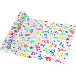 Amscan Gift Wrap Paper - Bright Print Cellophane - 4.8m Roll