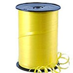 Amscan Curling Ribbon - Yellow - 91m Roll