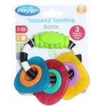 Playgro Textured Teething Rattle