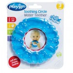 Playgro Soothing Circle Water Teether - Blue
