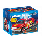 Playmobil Fire Chief´s Car with Lights and Sound