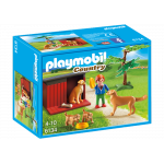 Playmobil Golden Retrievers with Toy